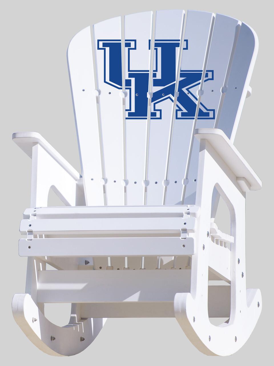 University Of Kentucky Wildcats Rocking Chair Key Largo