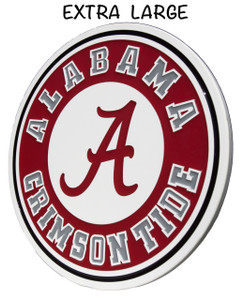 "Extra Large Alabama Crimson Tide Wall Plaque...   31"" x 31"" x  .75""  Beautiful Hand poured epoxy resin.   25 Year Warranty and absolutely stunning."