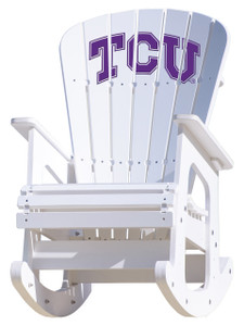 Texas Christian University - Rocking Chair