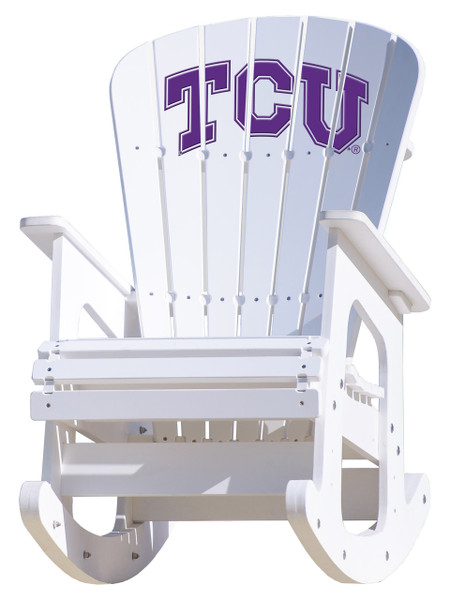Texas Christian University - Rocking Chair