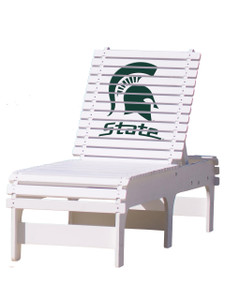 Michigan State Spartans Chaise Lounge