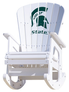 Michigan State University Spartans - Rocking Chair