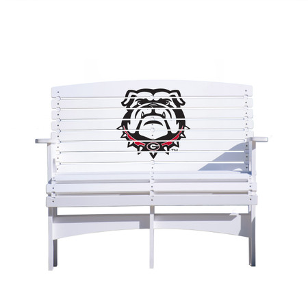 "Georgia ""Bulldog"" Bench"