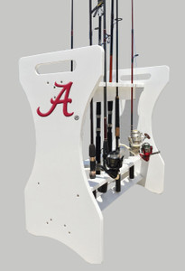 Alabama Crimson Tide Large Fishing Rod Holder