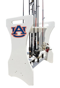 Auburn Tigers Fishing Rod Holder