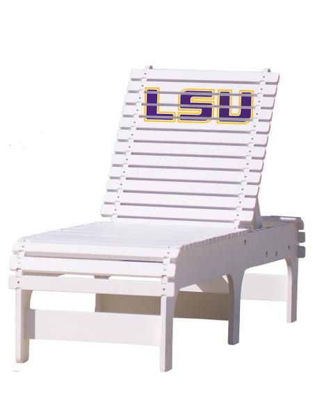 LSU Tigers Chaise Lounge