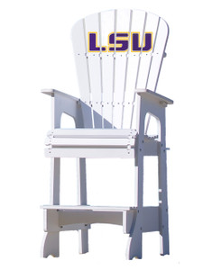 LSU Tigers Lifeguard Style Chair