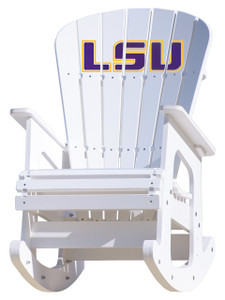 LSU Tigers Rocking Chair