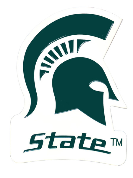 Michigan State Spartans Wall Plaque
