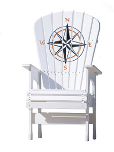 Compass Rose - High Top Chair