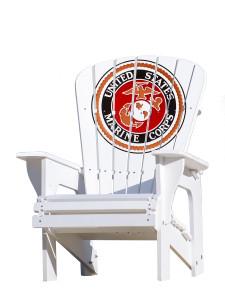 United States Marine Corps Adirondack Chair