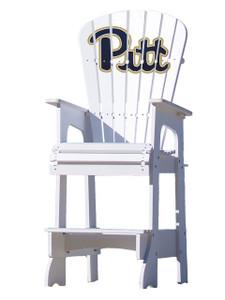 University of Pittsburg (PITT) Panthers Lifeguard Style Chair