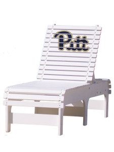 University of Pittsburg (PITT) Panthers Chaise Lounge