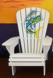 Multicolor Mahi Adirondack Chair