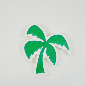Palm Tree Wall Plaque