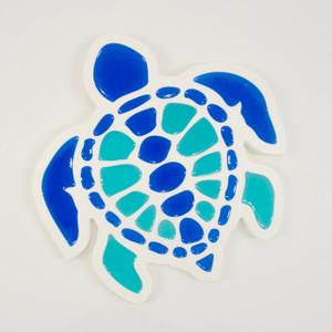 Multi Colored Turtle Wall Plaque - Standard