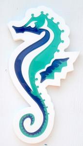 Large Seahorse Plaque