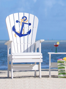 High Top Patio Chair - Anchor with Rope