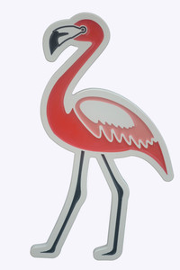 Flamingo Wall Plaque