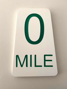 Mile 0 Wall Plaque
