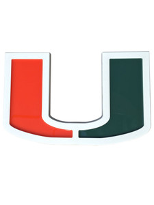 Miami Hurricanes  The U Wall Plaque