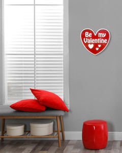 Be My Valentine Wall Plaque