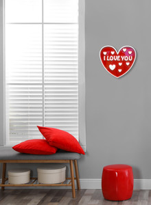 I Love You Wall Plaque