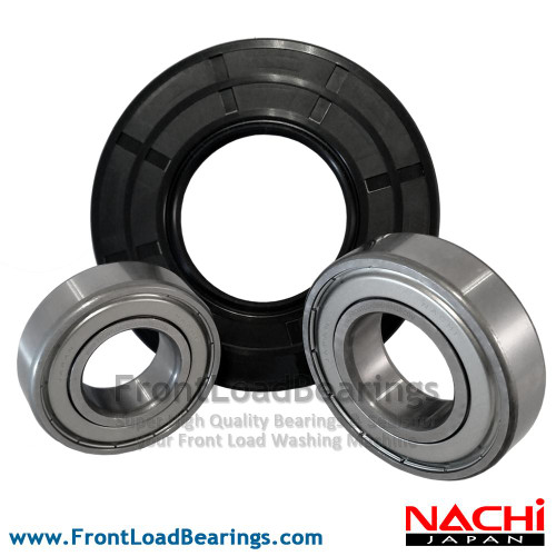 W10253864 High Quality Front Load Amana Washer Tub Bearing and Seal Repair Kit - Front View