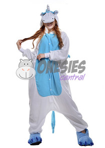 Blue Unicorn Onesie