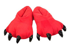 Animal Soft Plus Red Slipper  Complete your onesies collection by purchasing the animal soft plus slipper to keep your feet warm in the winter season.