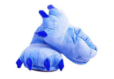 Animal Soft Plus Blue Slipper  Complete your onesies collection by purchasing the animal soft plus slipper to keep your feet warm in the winter season.