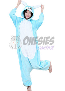 Blue Rabbit Onesie