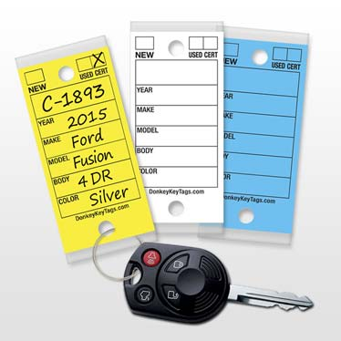 Dealership Key Tags
