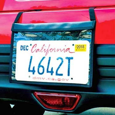 License Plate Covers & Bags