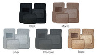 Carpet Floor Mats (Available In Multiple Colors) (4-Piece set)