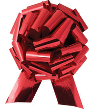 "14"" Red Metallic Car Bows (10 per pack)"