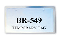 License Plate / Temporary Tag Protector (Form # TH-100) (100 per pack)