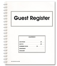 Guest Register Book (Form # GR-1000)