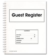 Guest Register Book (Form # GR-1000)