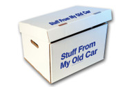 """Stuff From My Old Car"" Storage Box (5 pack) (475)"