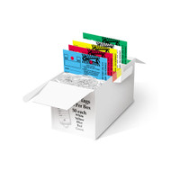 Mixed-Color Versa-Tag® Key Tags (250 per box - 50 of each color) (410)