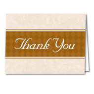 Thank You Cards and Envelopes (Gold) (50 per pack) (5901)