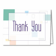 Thank You Cards and Envelopes (White and Green) (50 per pack) (5902)