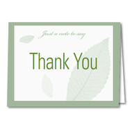 Thank You Cards and Envelopes (Blank Inside) (50 per pack) (5903)