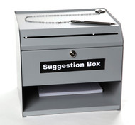 Suggestion Box (sturdy metal construction) (4530)
