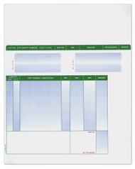 Laser Cut Sheet Invoice (Form #LZR-PT-INV) (250 per pack) (6300)