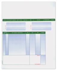 Laser Cut Sheet Invoice (Form #LZR-PT-INV) (250 per pack) (6300)