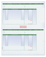 Laser Cut Sheet Invoice Perforated (Form #LZR-PT-INV-2) (250 per pack) (6301)