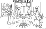 Coloring Fun! coloring pad