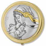 madonna and child pyx